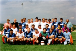 fussball - Besuch aus Passow-1991