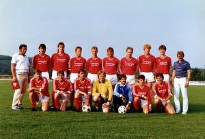 fussball - Mannschaft-1987